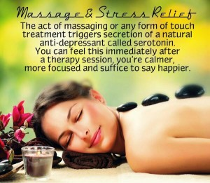 massage and stress relief